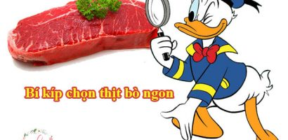 """Cách chọn thịt bò tươi ngon cho từng món """" tránh đồ đông lạnh"""""""