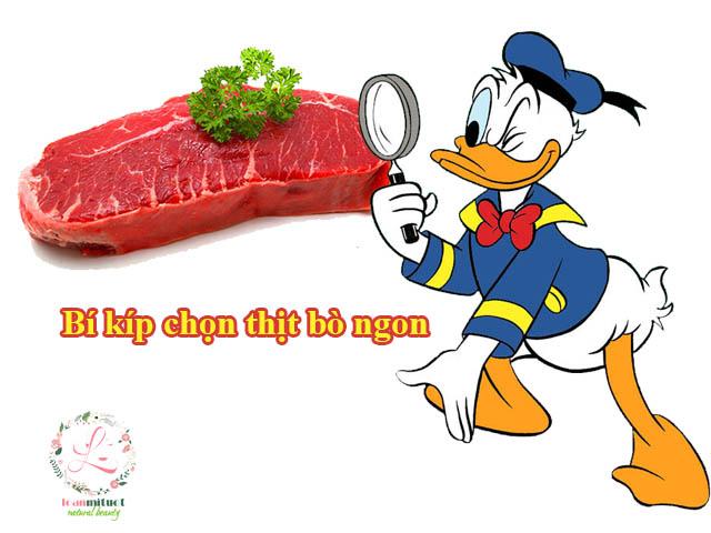 Cách chọn thịt bò tươi ngon, mềm cho từng món ăn