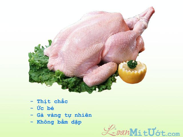 Chọn thịt gà làm sẵn không khó