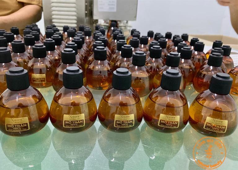 Sản phẩm mỡ trăn N'store mới chính thức được sản xuất hàng loạt và đưa vào sử dụng