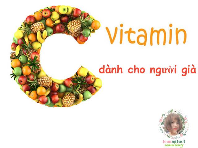 Bổ sung vitamin C cho người già