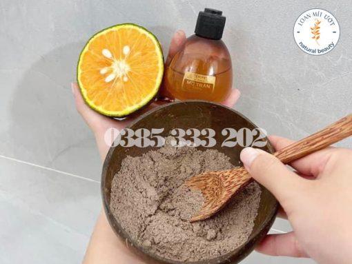 Combo cà phê dừa, mỡ trăn và cam